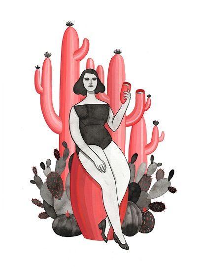 Monica Garwood, The Cactus Drinker.