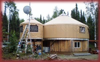 The Super 2 Story All Weather Alaskan Style Yurt Awesome Houses