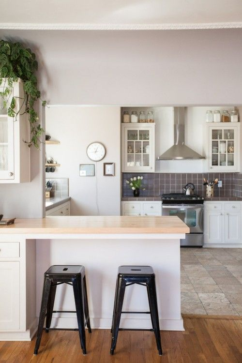 C moda cocina de espacio abierto decoraci n en 2019 for Cocina salon espacio abierto