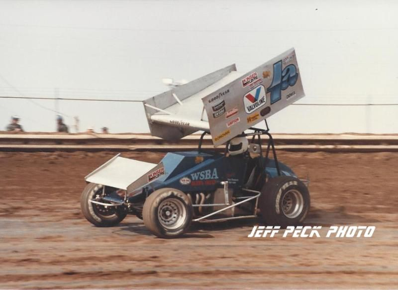 92c169a0 Scruffy in his #1a (Bobby Allen) 1986, another great Jeff Peck photo ...