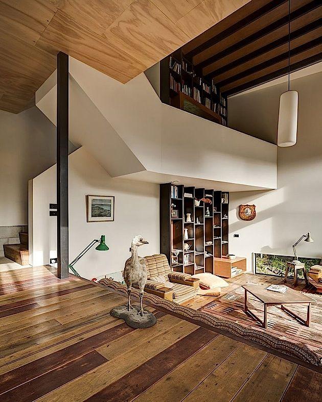 Architektur Ein kleines gemütliches Haus in Neuseeland KlonBlog - kleine gemutliche wohnzimmer