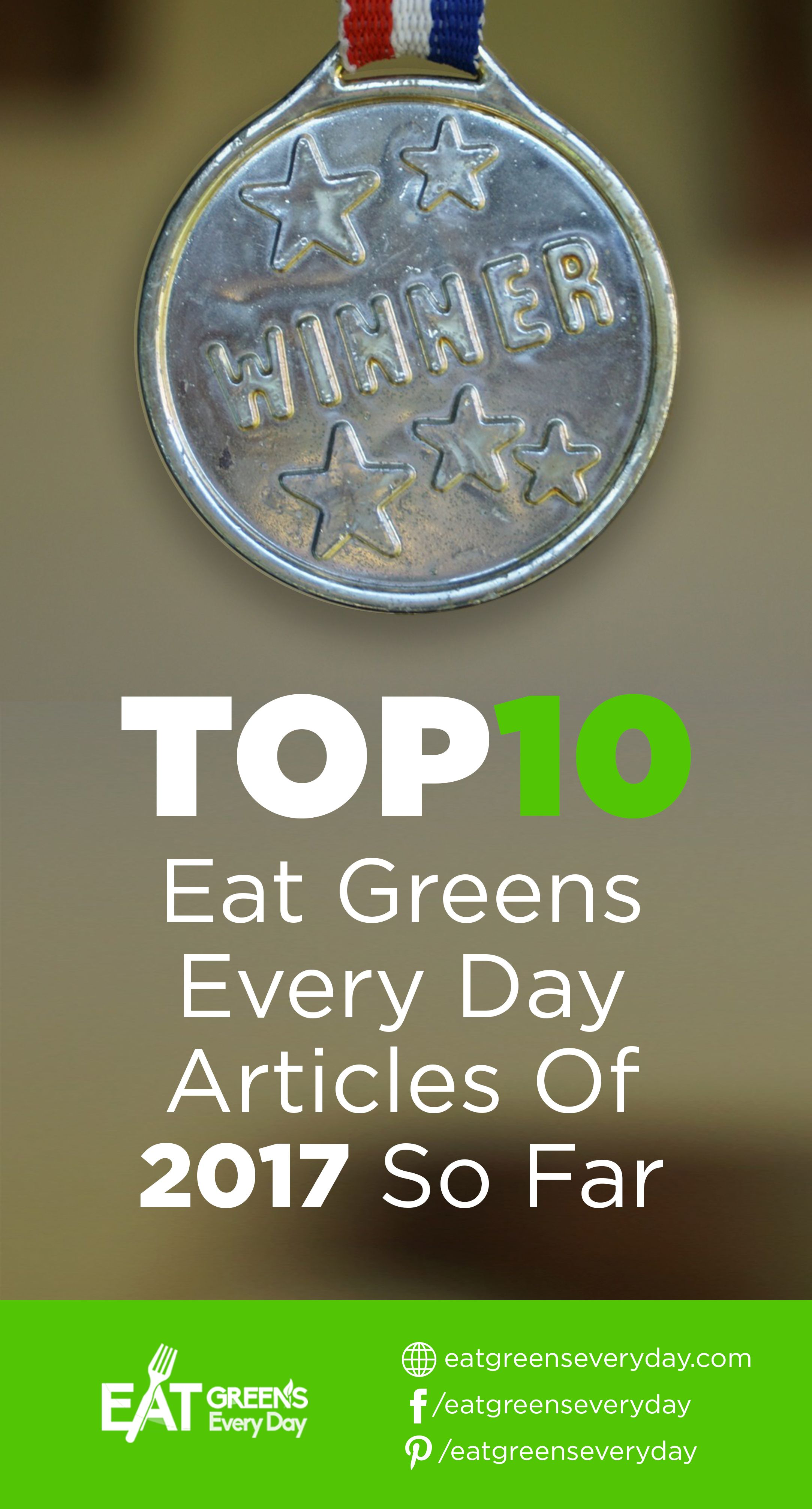Eat Greens Every Day Top 10