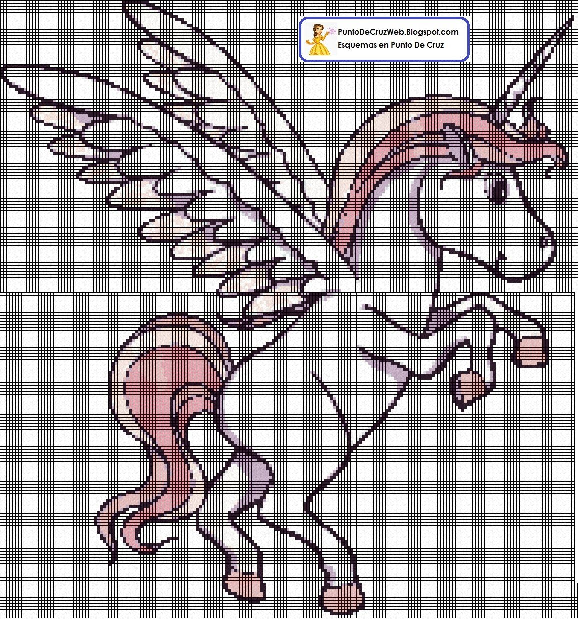 Unicornio Punto De Cruz Caballos Punto De Cruz Punto De Cruz Esquemas Punto De Cruz