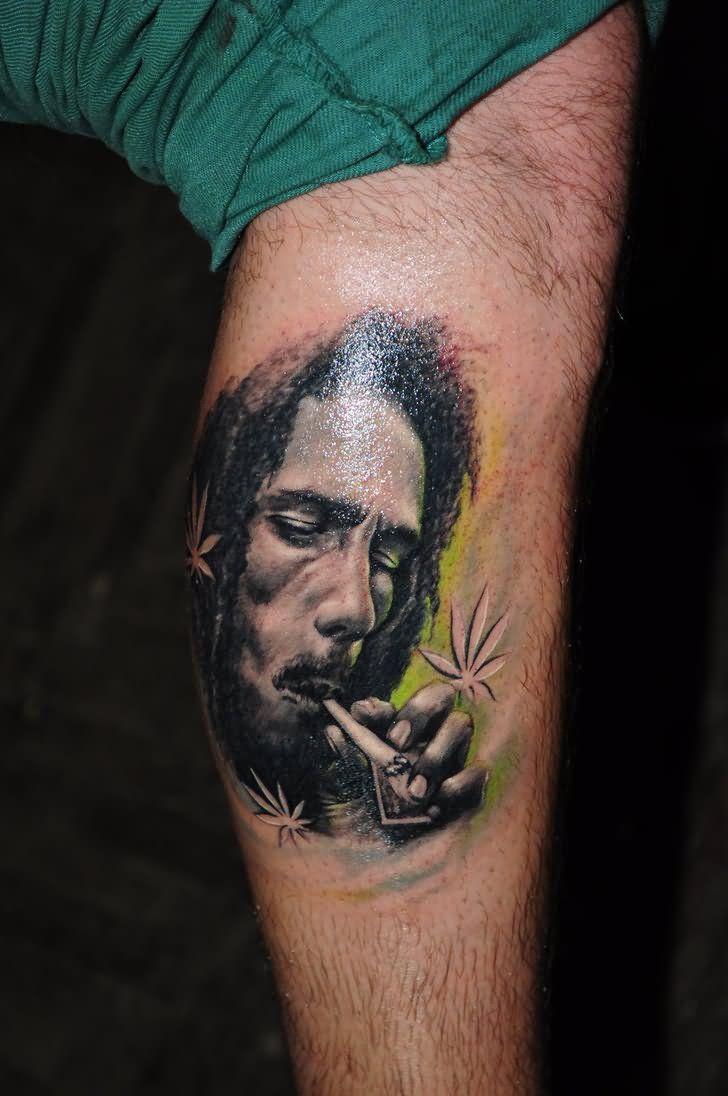 Bob Marley Tattoo Photos