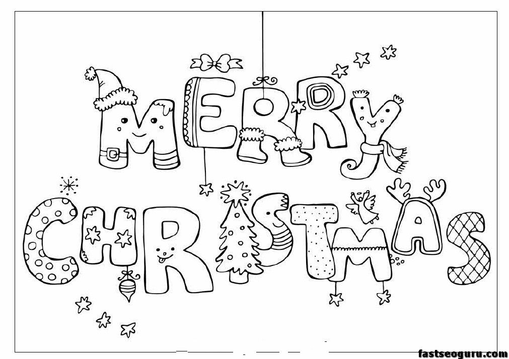 Christmas Coloring Pages Printable Merry Christmas Print Out Coloring  Pages … Christmas Coloring Cards, Free Christmas Coloring Pages, Christmas  Coloring Sheets