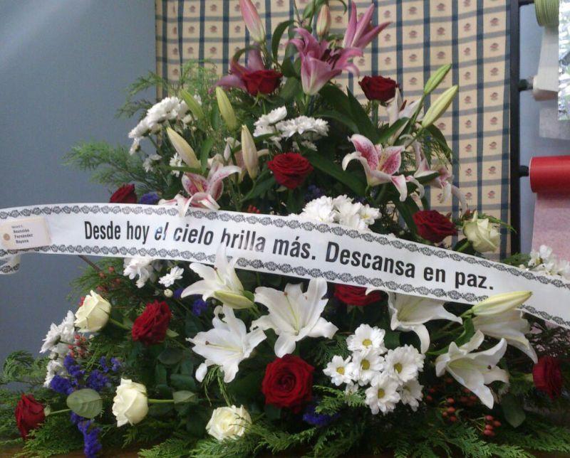 Arreglos De Flores Para El Tanatorio De Madrid Centros De