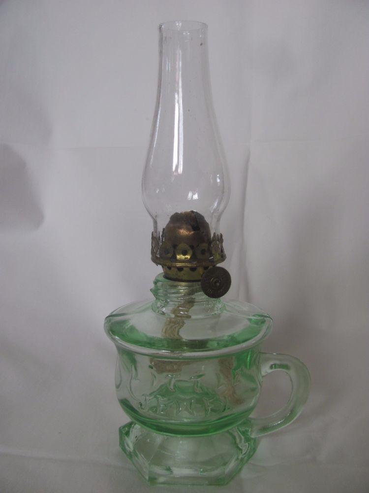 Collectible Miniature Non Electric Lamps | EBay