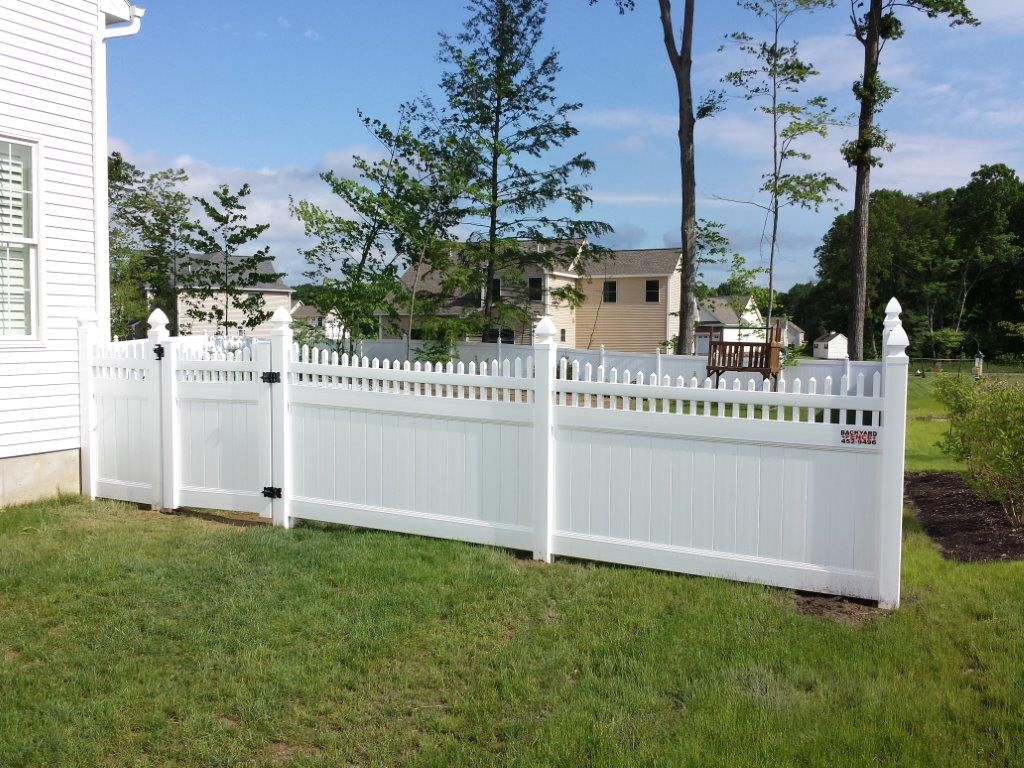 The Column Of Pvc Guardrail Can Be Fixed With Concrete After Digging Pit Or It Can Be Fixed Directly With Expansion Screw Pvc Fence Fence Design Fence Prices