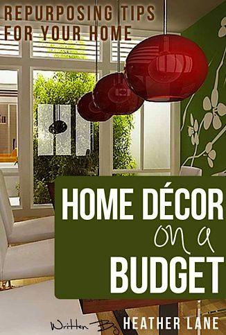 FREE e-Book: Home Decor on a Budget