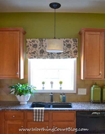 Roman Shades Over Blinds No Sew