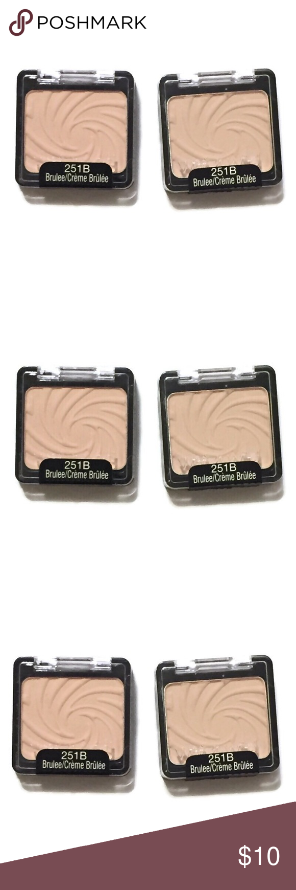 Sold Wet N Wild Color Icon Eye Shadow Creme Brûlée Wet N Wild Makeup Eyeshadow Creme