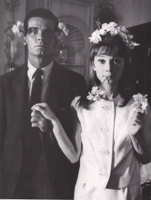 James Garner and Audrey Hepburn