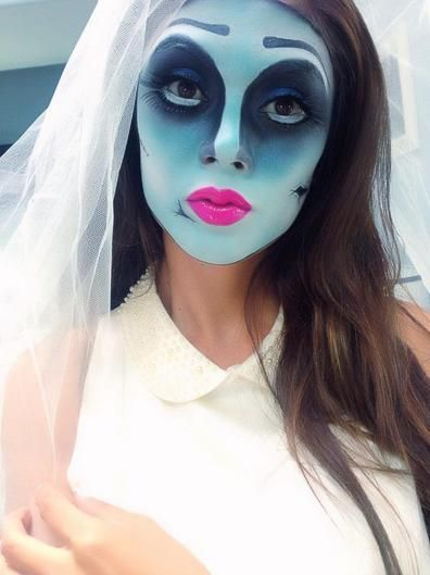 Halloween Makeup 10 Best Tutorials From Bloggers Novia cadáver - maquillaje de halloween para nios