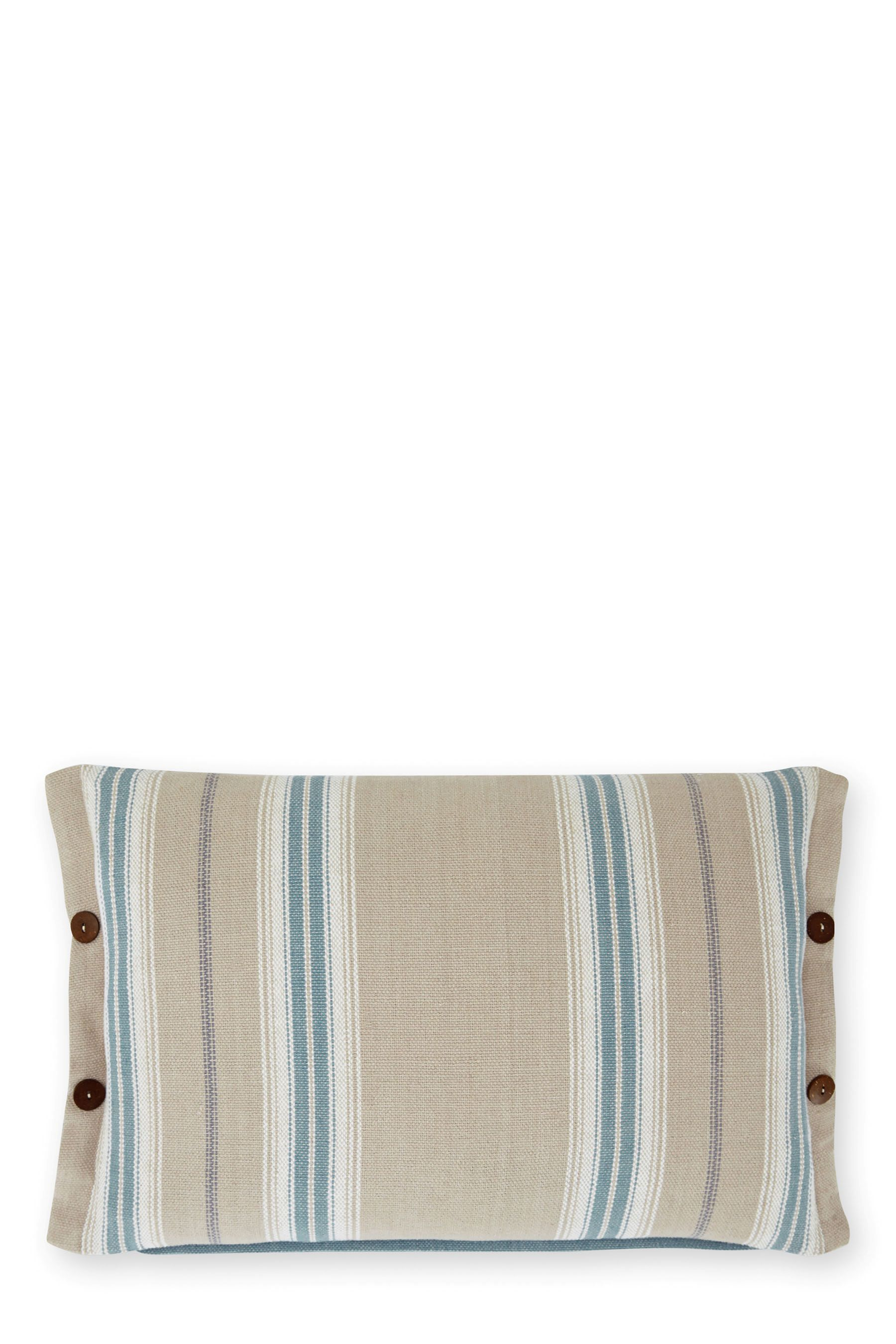 Buy Marine Woven Stripe Cushion from the Next UK online shop