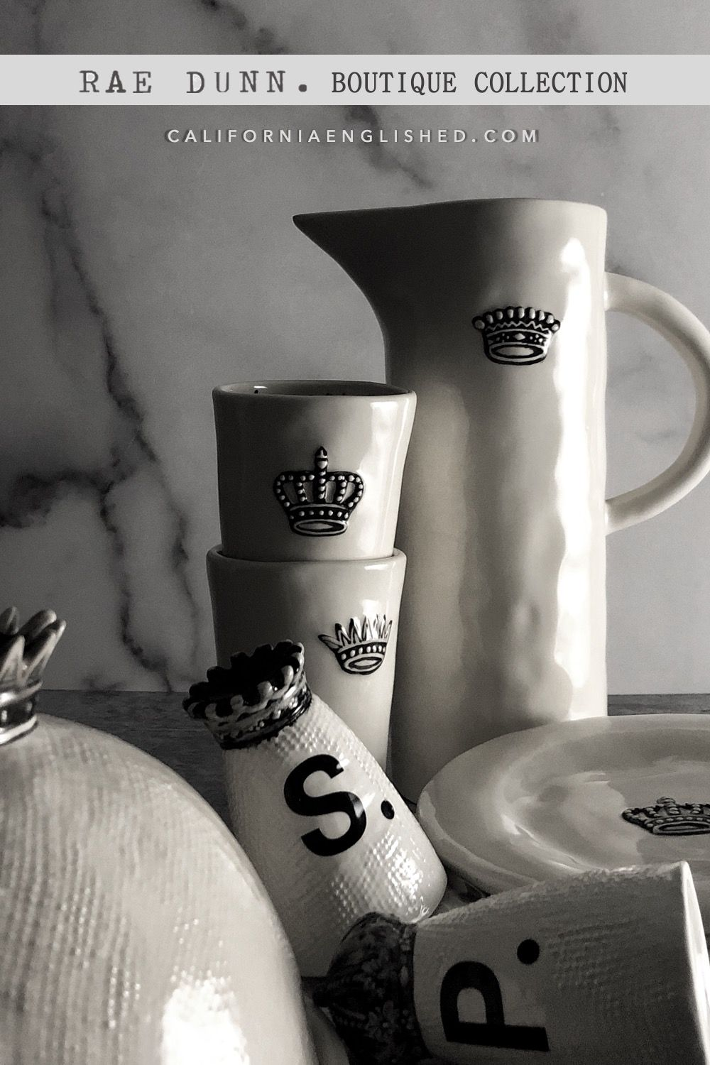 Rae Dunn Boutique Have A Royal Day Crown Breakfast Set At