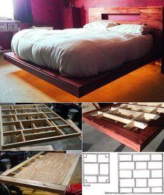 Bett Selber Bauen Fur Ein Individuelles Schlafzimmer Design Bett