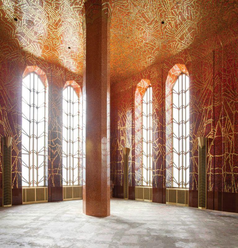 A Hidden Art Deco Lobby On Wall Street Undergoes A 1 Million Restoration Hidden Art Art Deco Restoration