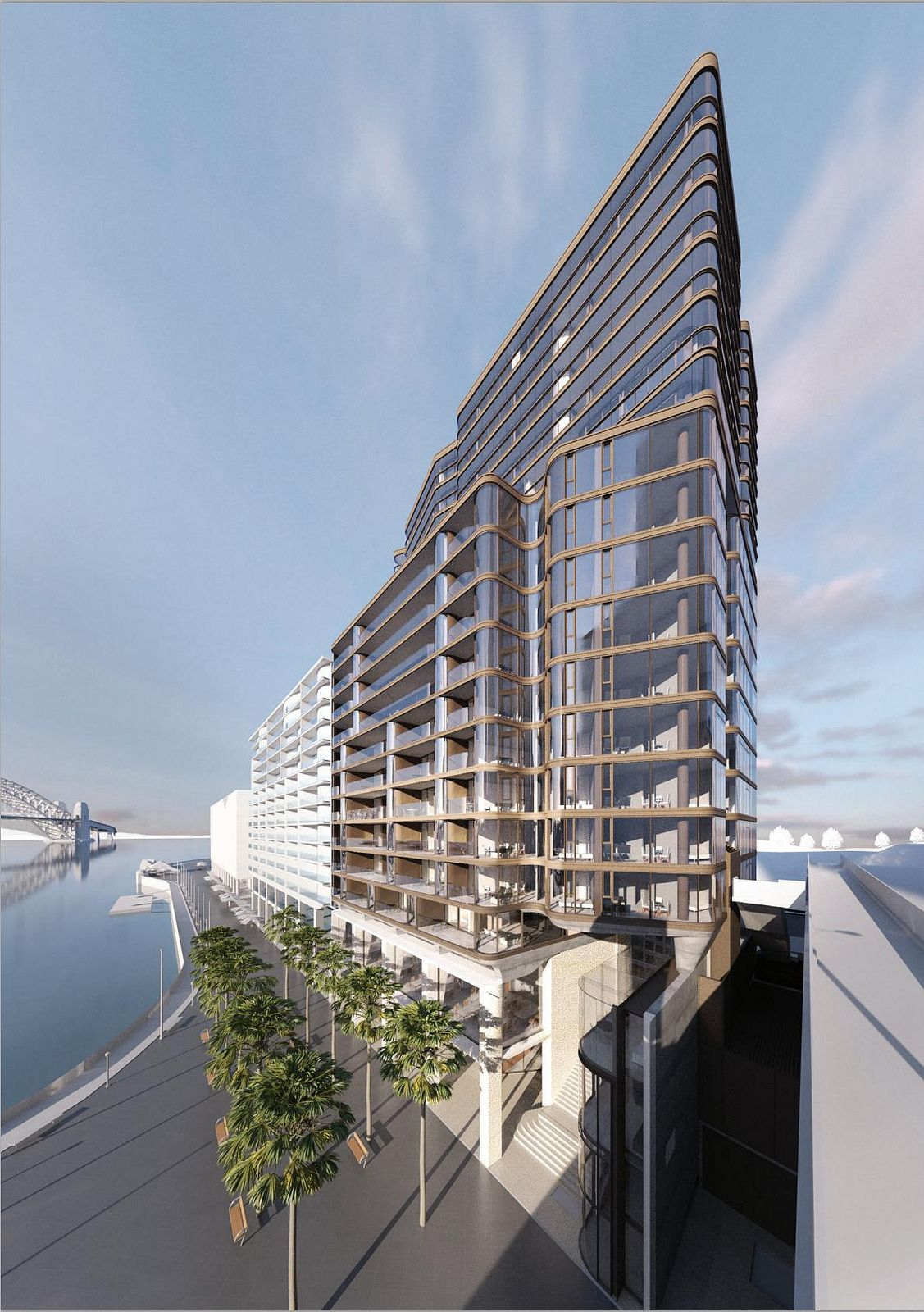 Approved CBD NORTH 7179 Macquarie Street 19st/64m