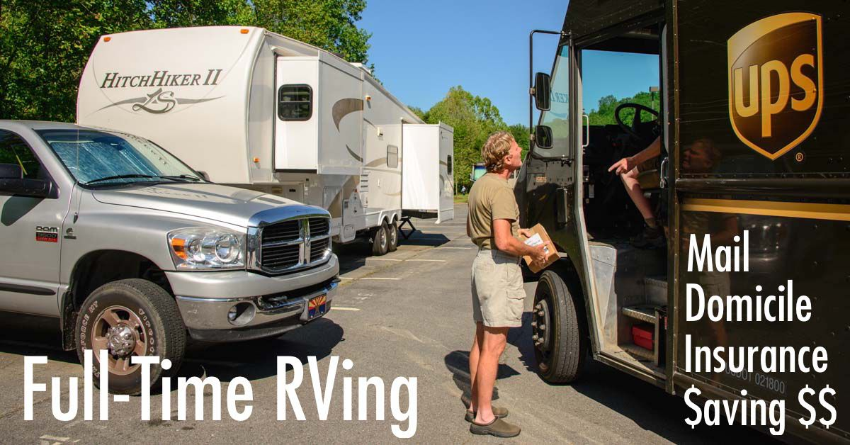 Full-time RV Tips - Mail, Domicile, Insurance, Saving Money! | Roads Less Traveled