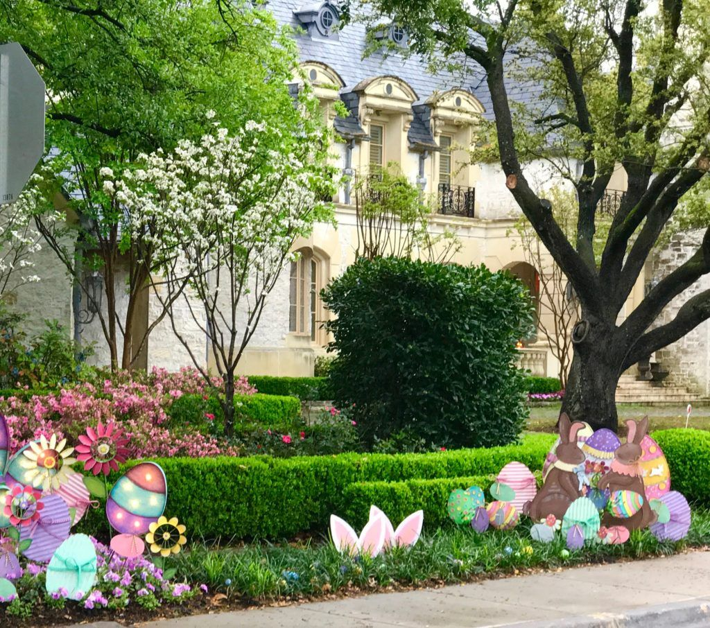 Come check out Turtle Creek Lane\'s Outdoor Easter Decorations! We ...
