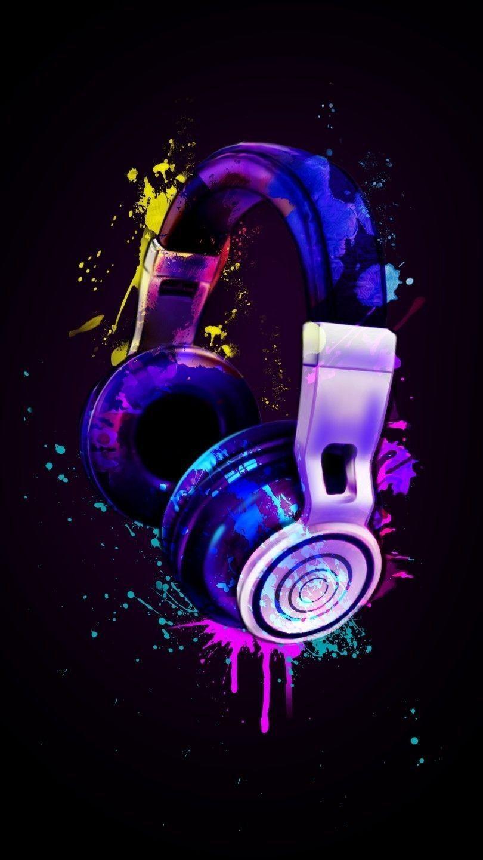 Headphones Wallpaper Graffiti Wallpaper Neon Wallpaper Music