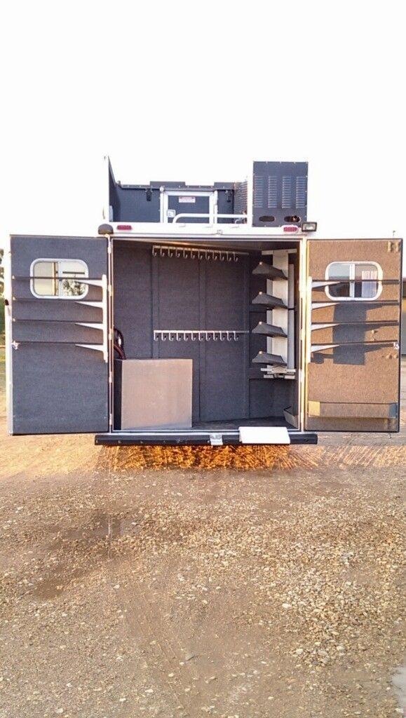 Vinyl Decal Sticker 4 x 4 Truck Horse Trailer Bumper Sticker Barn Tack Rodeo Barrel Racing Roping Equestrian Dressage Riding 4 x 4 Horses
