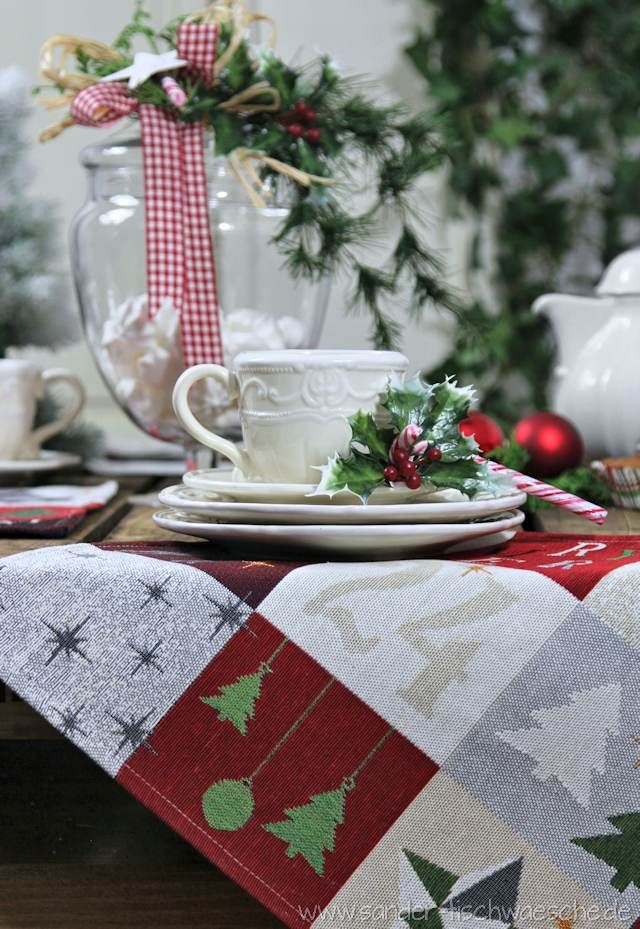 Weihnachtsdeko und Gobelin Tischsets Weihnachten   Weihnachten ...