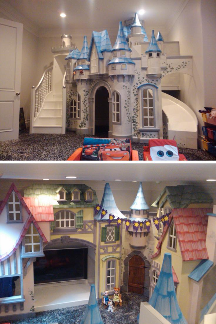 Big Indoor Playhouse Wizard Of Oz Castle Indoor Playhouse Indoor Playhouse Play Houses Build A Playhouse