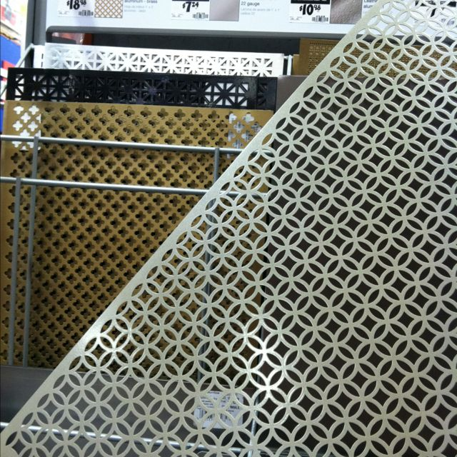 decorative metal sheets on sale at home depot so many crafting options - Decorative Sheet Metal