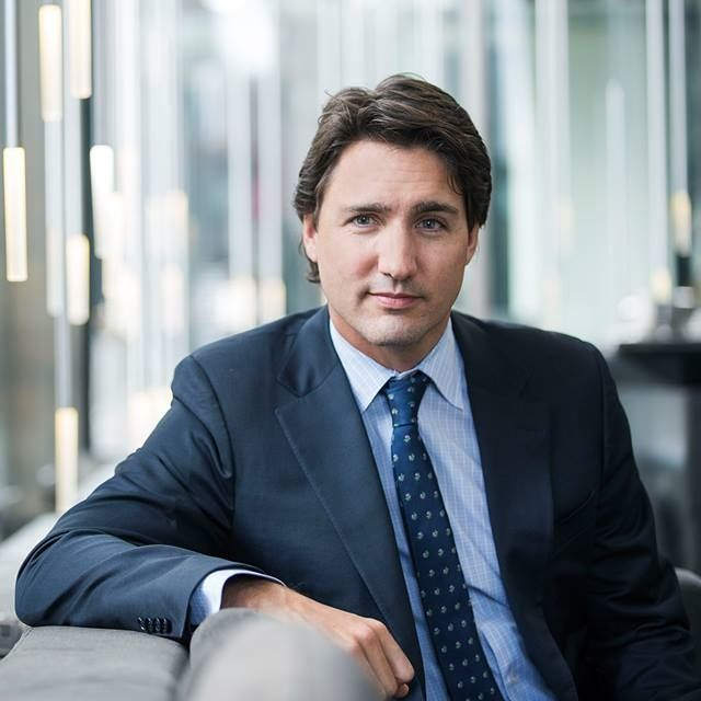 Justin Trudeau Prime Minister Of Canada Poses For A: Justin Pierre James Trudeau, MP, (born December 25, 1971