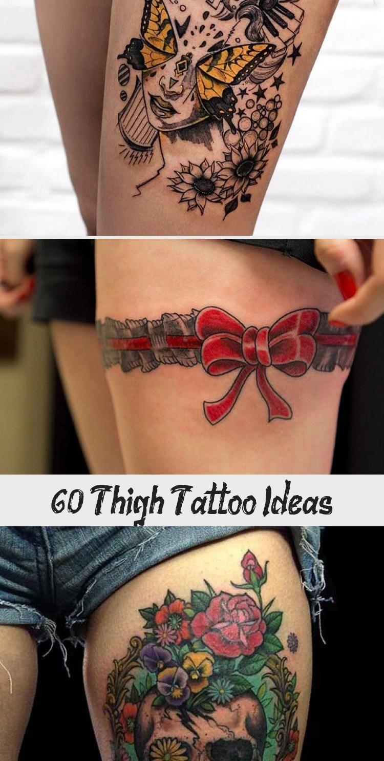 Photo of 55 Thigh Tattoo Ideas #ornamentaltattooMandalas #ornamentaltattooGirl #ornamenta…