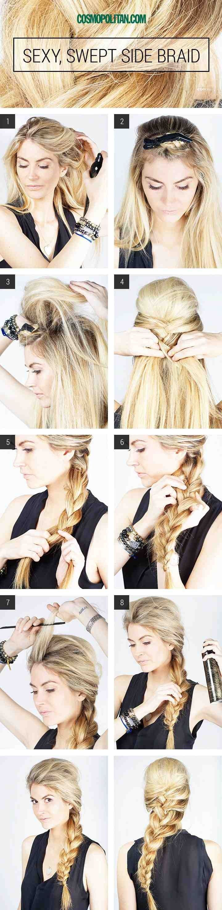 Versatile Wedding Hairstyles For Long Hair | Side swept, Beauty ...