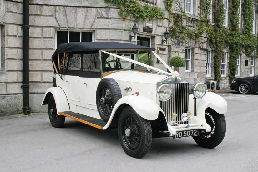 Vintage Wedding Cars Lincoln Rolls Royce Open Tourer