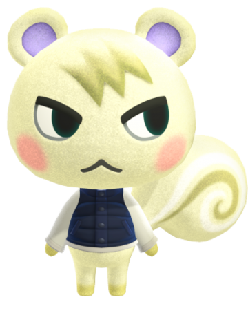 Marshal (smug) in 2020 Animal crossing characters