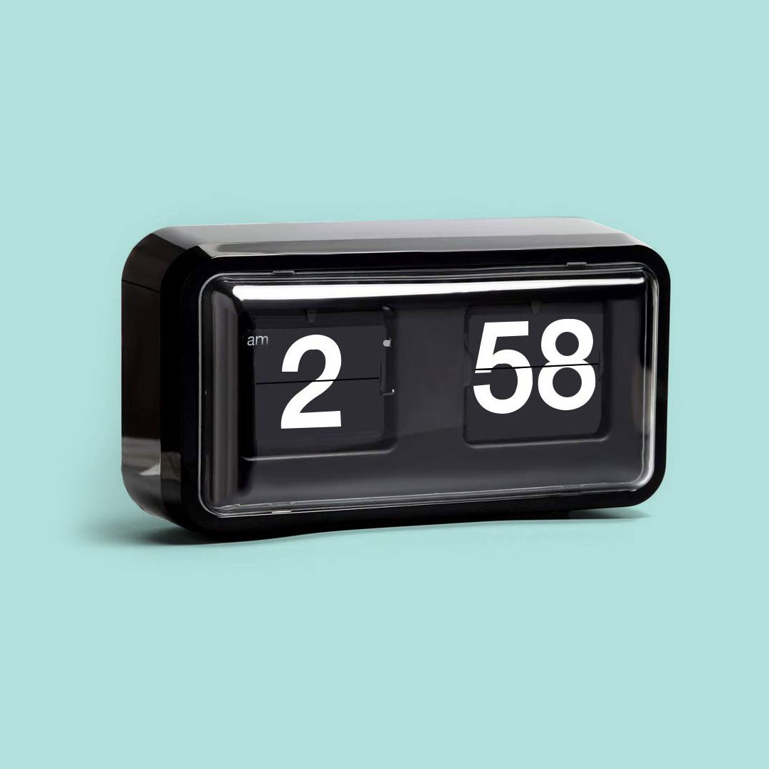 Kabb Retro Flip Down Clock 12 Hour Am Pm Retro Flip Wall Clock Retro Unique Clocks