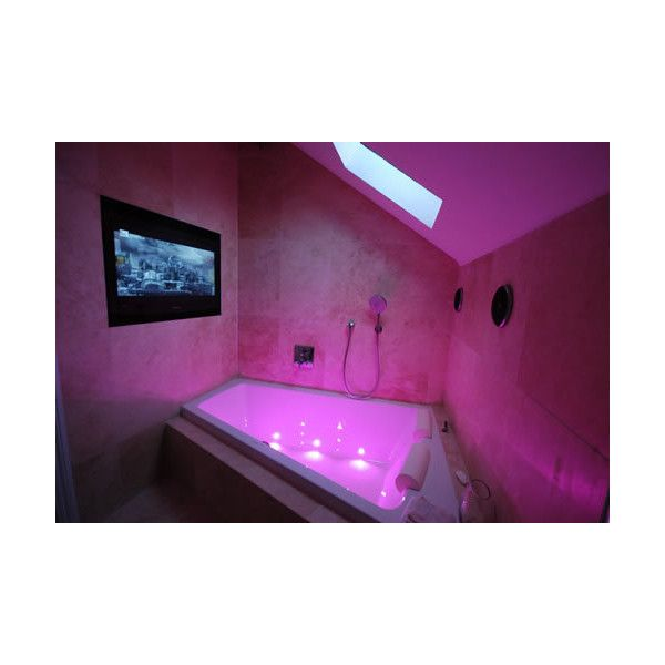 Tv Bathroom Bathroom Picture ❤ liked on Polyvore