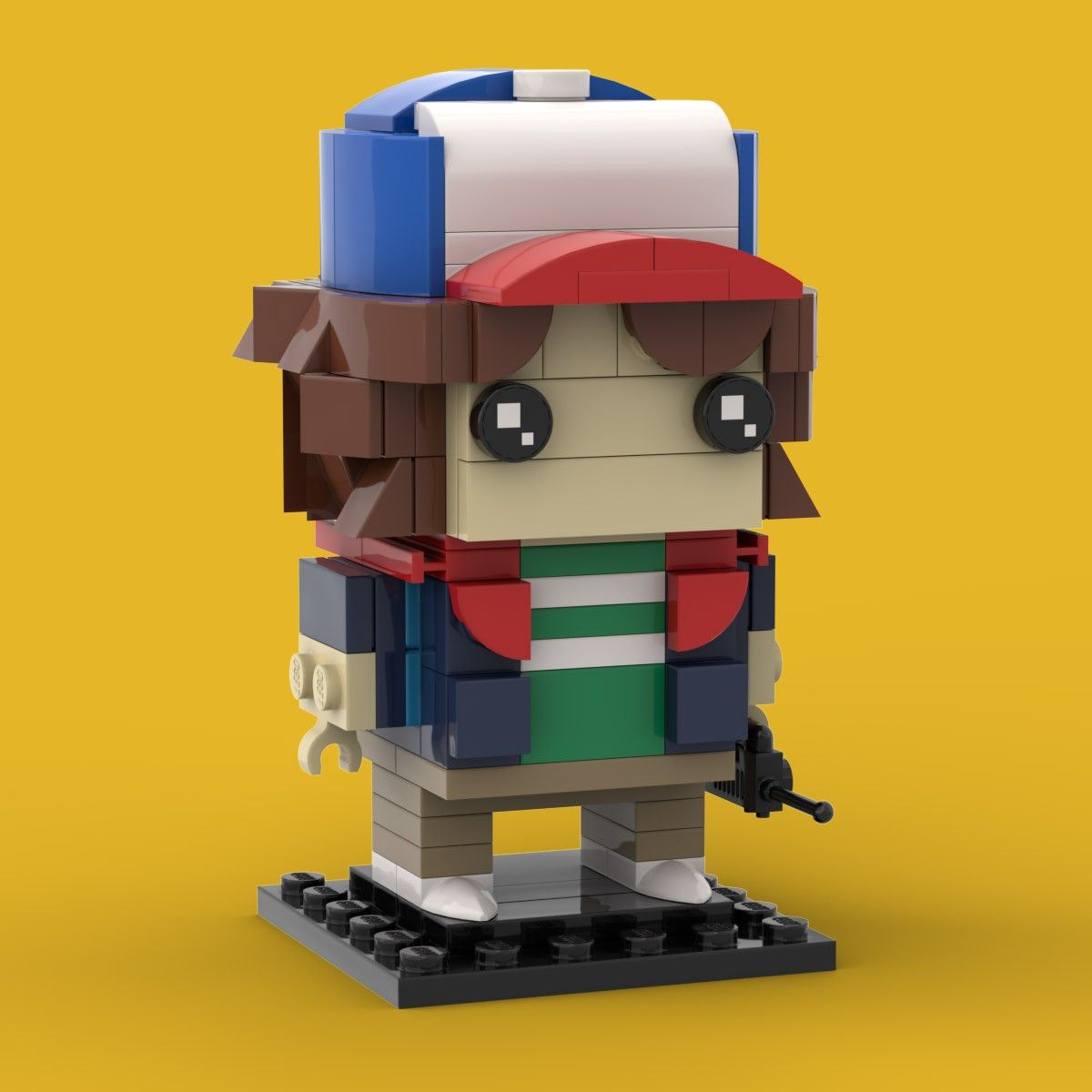 Lego Brickheadz Stinky Pete Toy Story 2 MOC Creation PDF INSTRUCTIONS ONLY