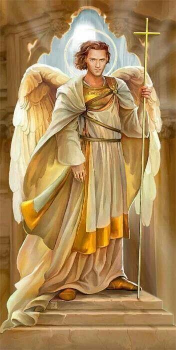 Arcangel San Uriel Fuente De Toda Abundancia Arcangel San