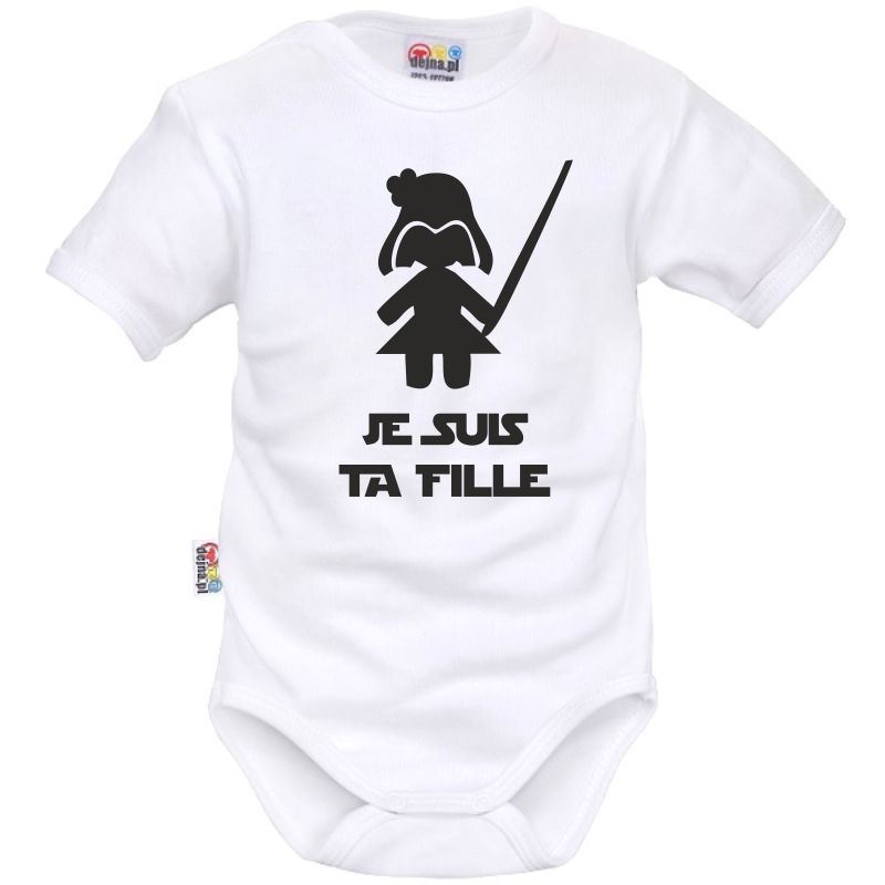 425700562d183 Body bébé geek   je suis ta fille - Bodies bébé rigolos - SiMedio