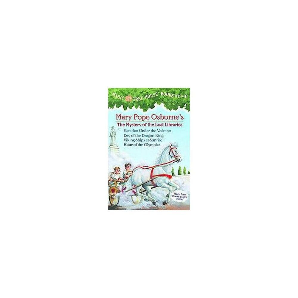 Magic Tree House Books 13-16: the Mystery of the Lost Libraries ...