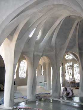 Arches Light Open Spaces Free Form Construction