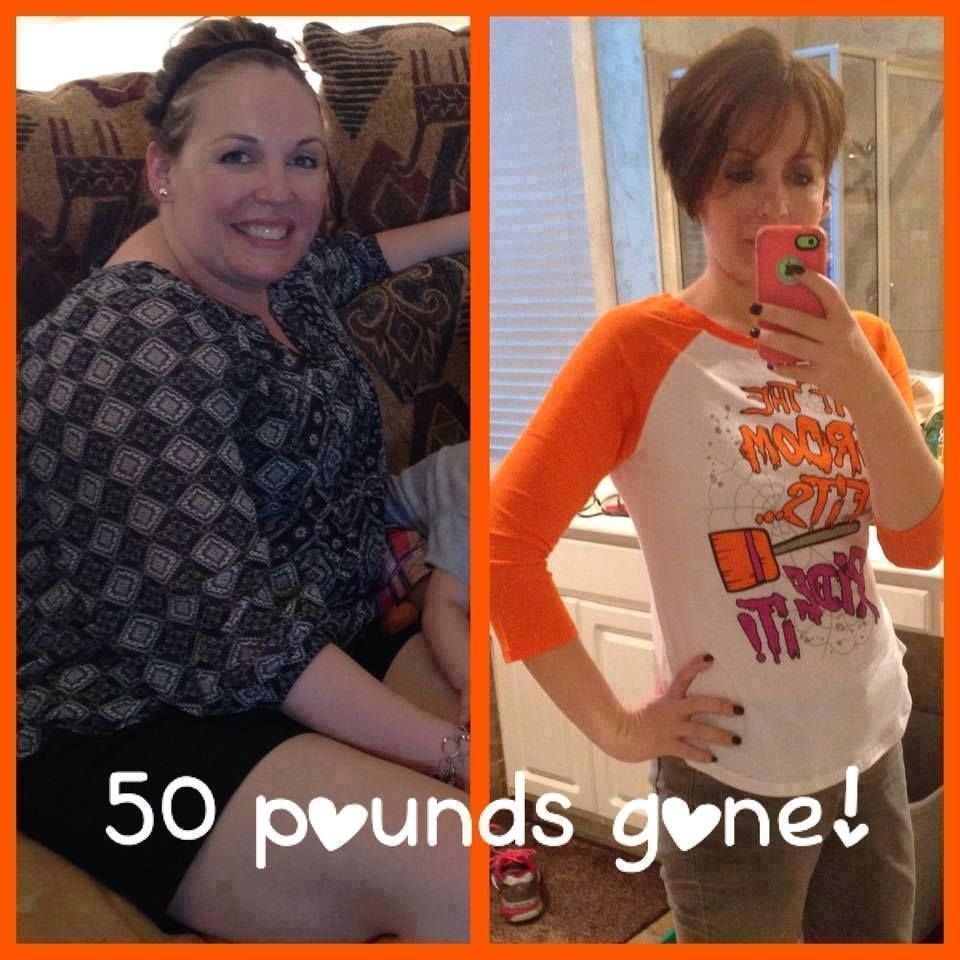 Look what a difference 50lbs can make are you ready to
