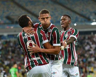 Fluminense goleia e fica com a vaga na mão na Copa Sul-Americana fb26785c53ad0