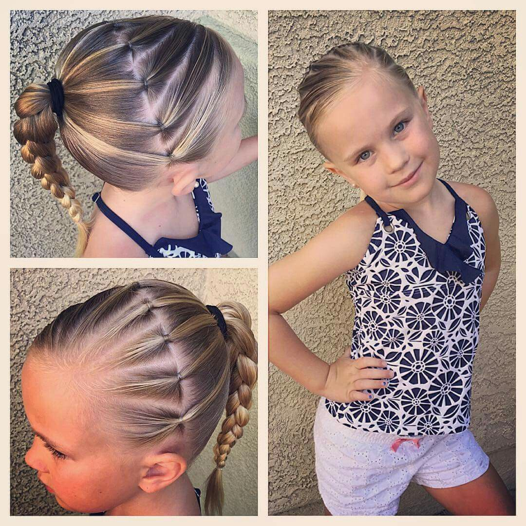 Pin by sarah kempf on my angels pinterest girl hair hair style