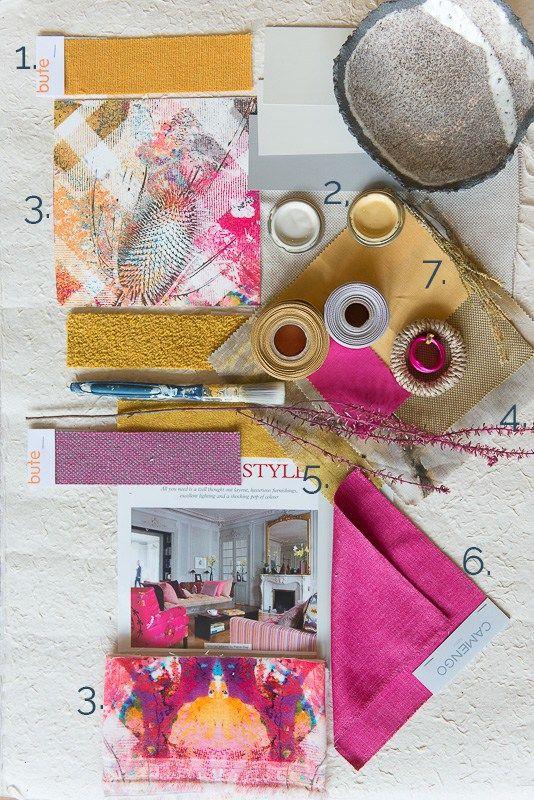 mairi helena mood board for colourful interiors