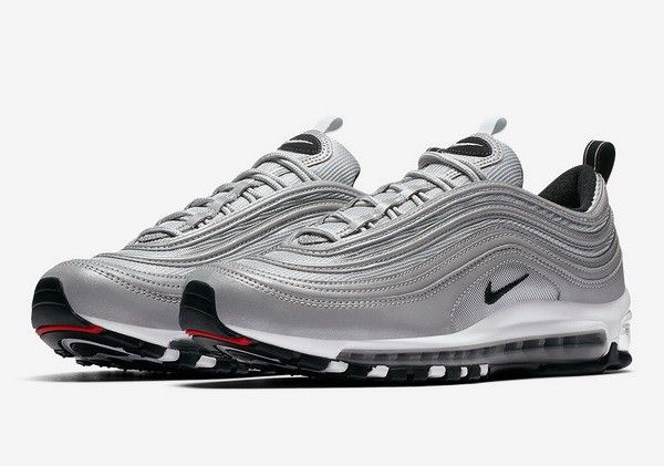 Nike Air Max 97 Reflect Silver Pure Platinum Wolf Grey Noir 312834 ... 5f8a68b425a