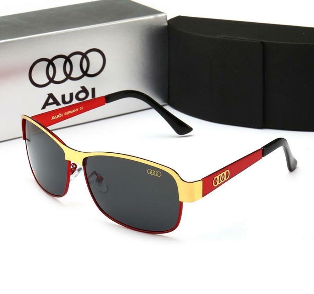 revisa a76b2 0f8f0 Audi quatto A8 gafas de sol hombre polarizadas y 100% UV400 ...