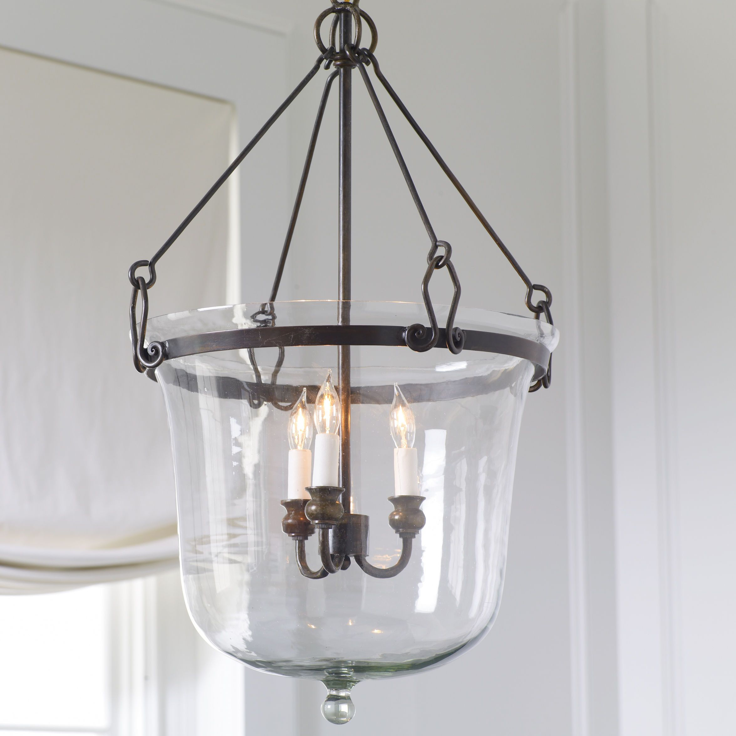 Chandelier For Breakfast Area Glass Cloche Ethan Allen Us