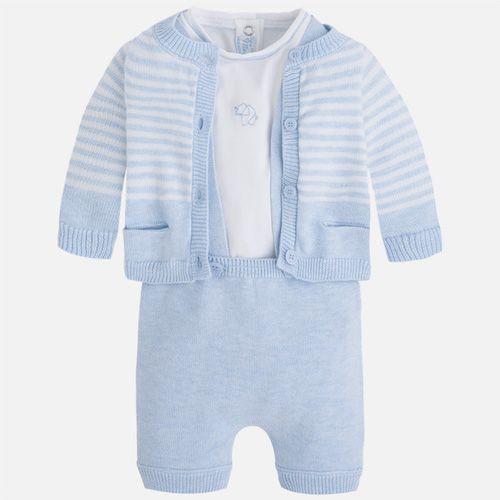 27813c973 Mayoral - Baby Boys Blue 3 Piece Shorts Set | Mayoral @ studiokidz ...