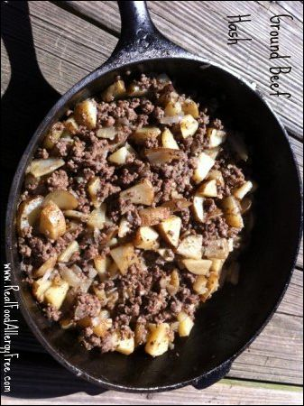 Ground Beef And Potato Hash Ground Beef And Potatoes Ground Beef Potato Hash